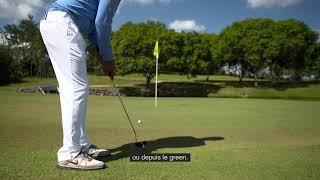 Règles de golf 2019 : Une balle jouée depuis le green heurte le drapeau