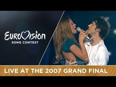 Karolina - Mojot Svet (F.Y.R. Macedonia) Live 2007 Eurovision Song Contest