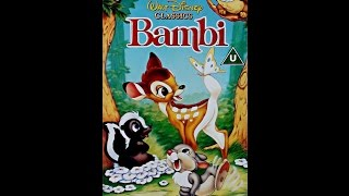 Download Digitized opening to Bambi (UK VHS)