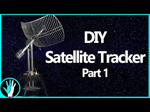 Building a Motorized Satellite Tracker for HRIT/HRPT Reception and Radio Astronomy – Part 1