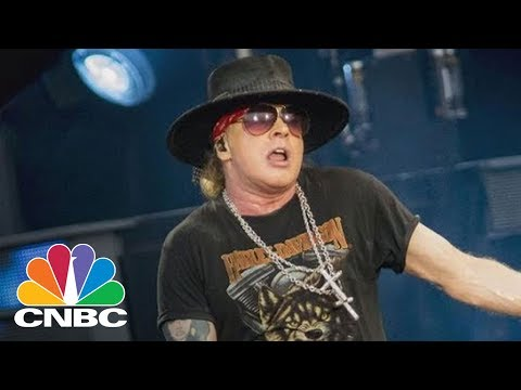 Apple's CEO Is The 'Donald Trump Of The Music Industry,' Says Guns N' Roses Frontman Axl Rose | CNBC