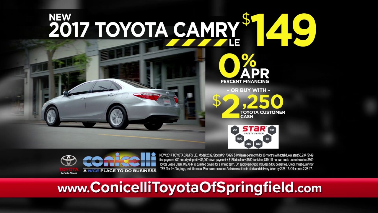 $149/month Camry U0026 $188/month RAV4 At Conicelli Toyota Of Springfield, Your  Delco Destination!
