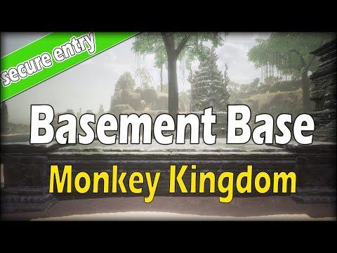 Basement Base - Monkey Kingdom - Conan Exiles |