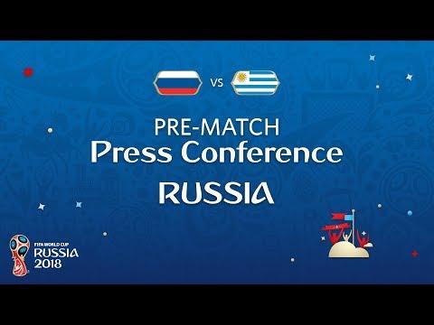 FIFA World Cup™ 2018: Russia - Egypt: Russia - Pre-Match Press Conference