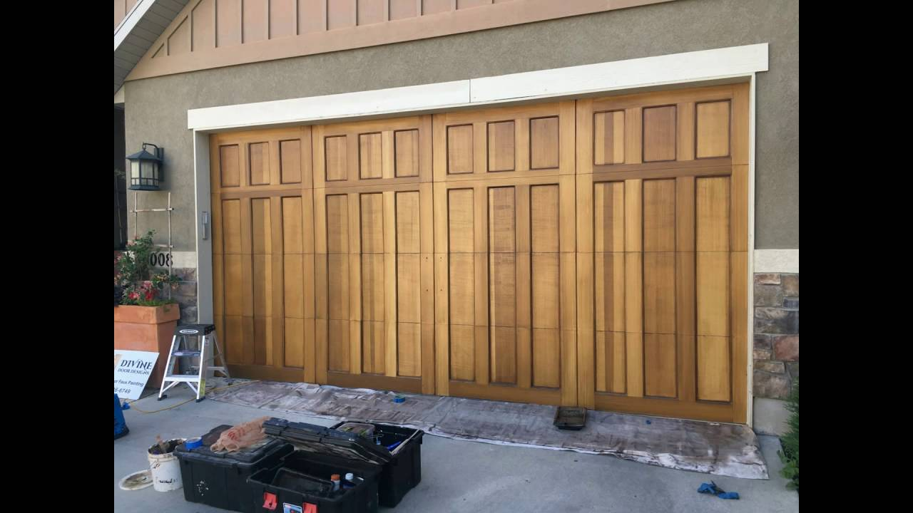 Make metal doors look like wood (Salt Lake City Ut) & Make metal doors look like wood (Salt Lake City Ut) - YouTube