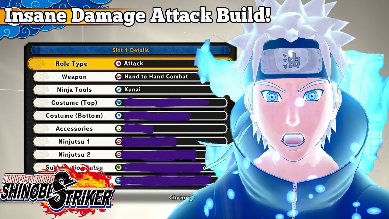 INSANE DAMAGE BUILD! Naruto To Boruto Shinobi Striker Best Attack Build In  The Game???