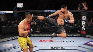 МАХЫЧ в МОЙ ДЕНЬ РОЖДЕНИЯ ТОП 10 UFC 3 НОКАУТЫ