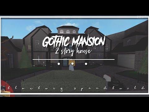 Roblox | Bloxburg | Gothic Mansion