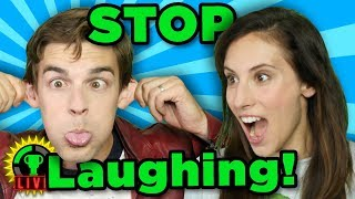 GTLive: YOU CAN'T BREAK US! | The LIVE FAN-SUBMITTED Try Not To Laugh Challenge