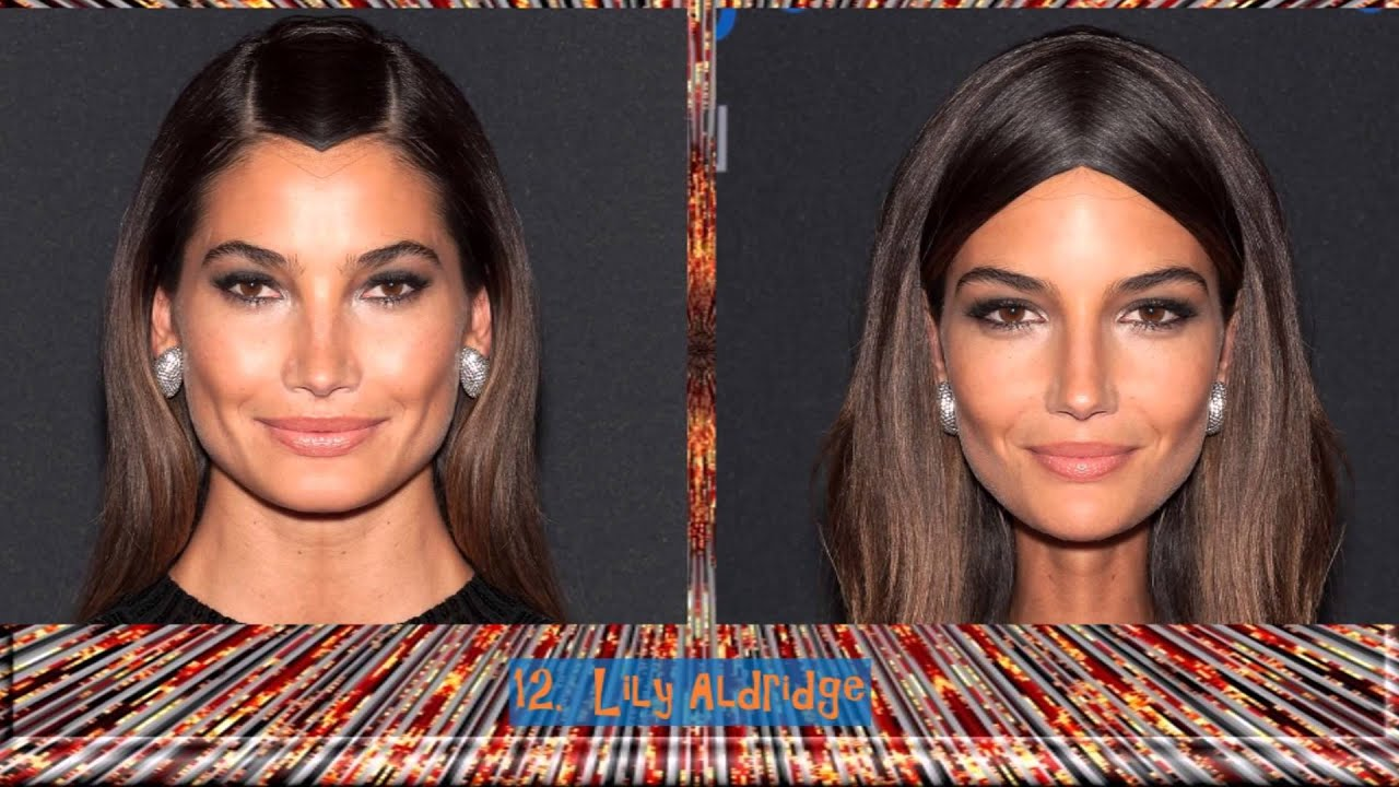 Famous Beautiful Women Left And Right Side Face U263ahd U266b