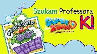 Super Zings seria 2 ⚡ Szukam Profesora K ⚡ unboxing po polsku