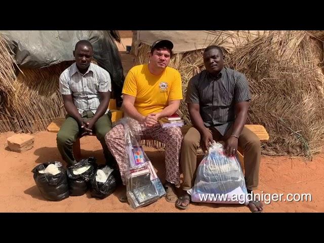 Projeto Prisão - Evangelismo e ajuda social - AGD Níger -