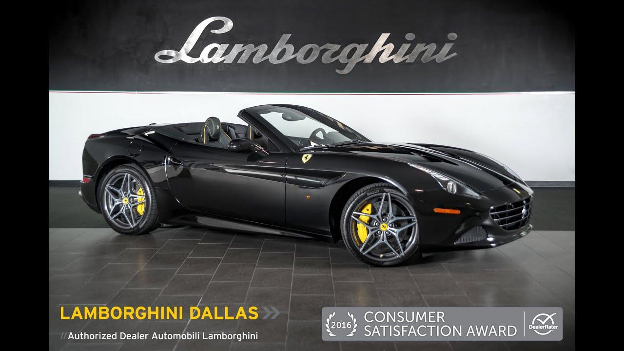2015 Ferrari California T Nero Daytona LT0923   YouTube