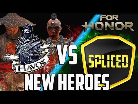 Havok vs Spliced - NEW HEROES - Shaman/Aramusha