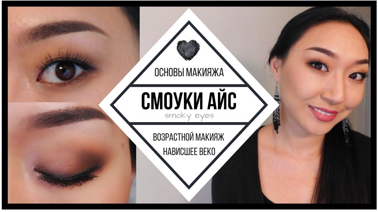 Возрастной макияж для нависшего века и увеличения глаз пошаговое 76