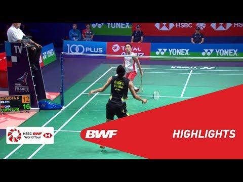 YONEX FRENCH OPEN 2018 | Badminton MS - SF - Highlights | BWF 2018