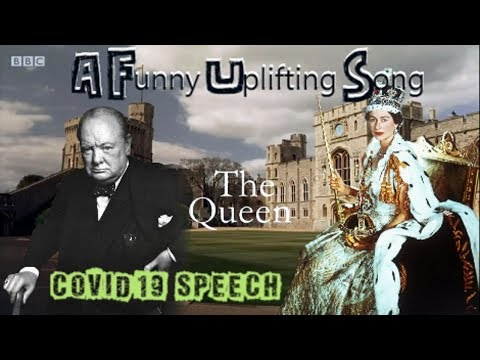 Funny Remake Queens Speech with Winston Churchill Coronavirus Song, Songify This YTP
