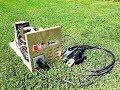 DIY WELDING MACHINE USING 5 MICROWAVE TRANSFORMERS