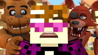 five nights at freddy s in minecraft 2 animation