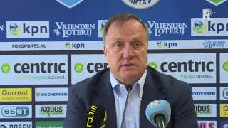 Sparta-trainer Dick Advocaat: 'we Zijn Nog Geen Wedstrijd