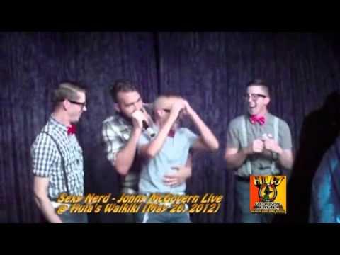 Sexy Nerd - Jonny McGovern Live @ Hula's Waikiki [May 26, 2012]