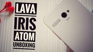 Lava iris Atom Unboxing
