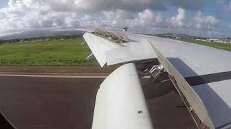[FLIGHT#56] AIR FRANCE B777-300ER landing in MARTINIQUE