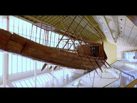 Salvaging a 5000 year old boat in Egypt - BBC Travel Show