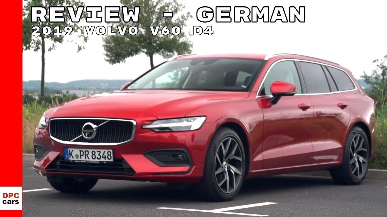 2019 volvo v60 d4 review - german
