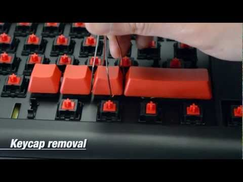 how to take keycaps off razer blackwido