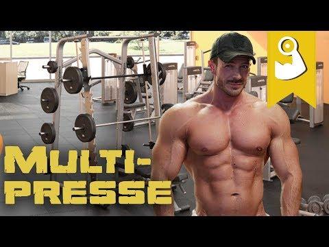 Muskelaufbau An Der Multipresse I Vor- Und Nachteile