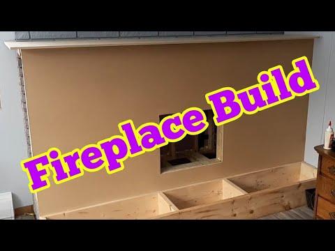Fireplace Mantel Build