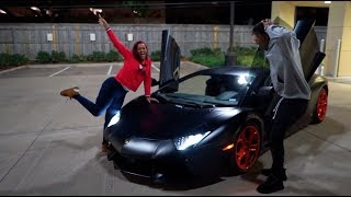 SURPRISING MY BOYFRIEND WITH HIS DREAM CAR!!! **VERY EMOTIONAL**