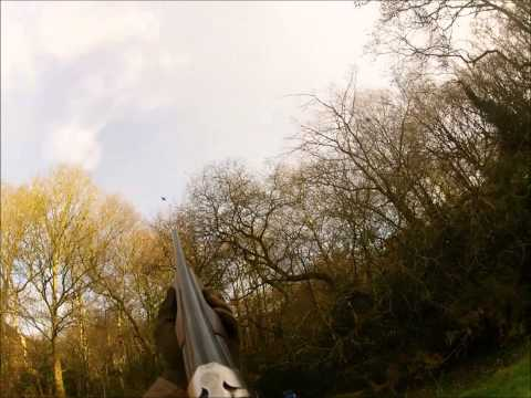 Pheasant Slomo Shooting with the GoPro Hero2 and Eley Hi Flyer 32g cartridges