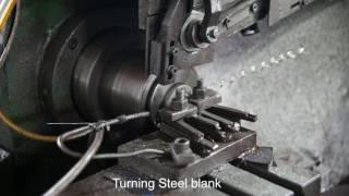 ZEN Ball Bearings - Turning Steel blank