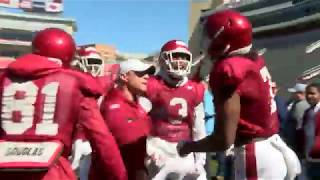 Arkansas' First Spring Scrimmage 3-9