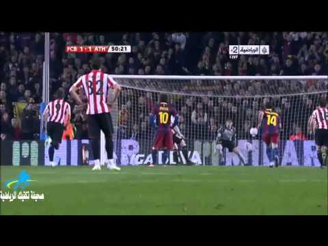 FC Barcelona vs Athletic Bilbao 2-1 All Highlights 20/02/2011 HD