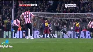 fc barcelona vs athletic bilbao 2 1 all highlights 20 02 2011 hd