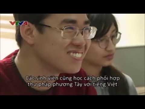 Margaret Shedperd and calligraphy journey in Vietnam