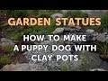 How to Make a Puppy Dog With Clay Pots