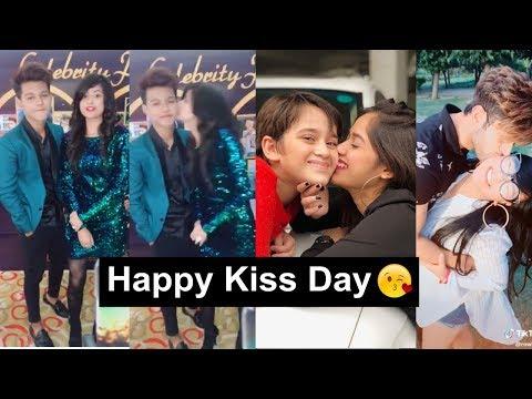 Happy Kiss Day Tiktok Videos | Jannat, Riyaz, Manjul, Avneet | Valentine Week