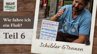 Floßfahren auf der Havel / Teil 6 - Schilder