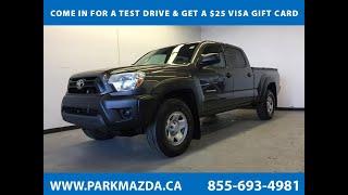 GREY 2012 Toyota Tacoma  Review Sherwood Park Alberta - Park Mazda