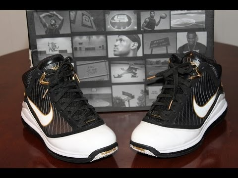 1bf924afcb49 Throw Back Review Lebron 7 On Feet - YouTube
