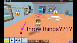 How to Throw stuff on roblox (working) (In any game)
