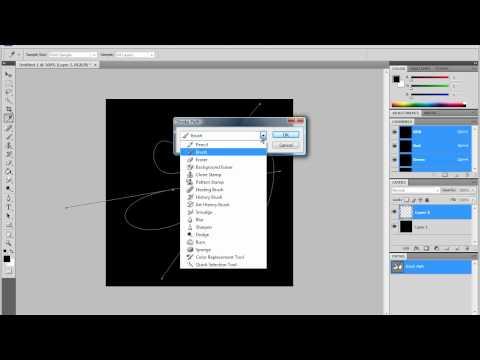 Photoshop CS4 Tutorial: How to make a Neon Light [HD]