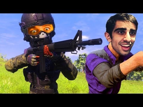BATTLE ROYALE ON YOUR PHONE?! - Knives Out w/ VIKKSTAR123