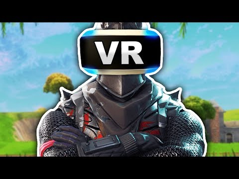 FORTNITE BATTLE ROYALE WITH A PLAYSTATION VR!