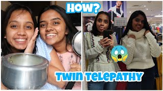 We took the TWIN TELEPATHY challenge for 24 HOURS 😂|gopsvlogs