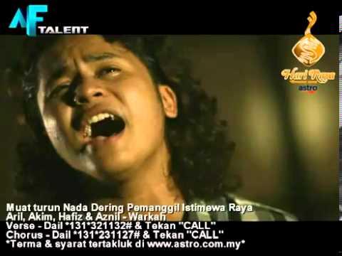 [MTV] AKIM, ARIL, HAFIZ & AZNIL - Lagu Raya Warkah